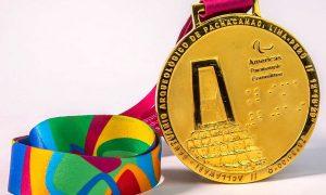 Juegos Parapanamericanos: Medallas con código Braille