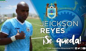 Recuperado. Jeickson Reyes tiene el deseo de volver a jugar tras estar de alta de su lesión. Sabe que Ayacucho será un rival complicado para este sábado