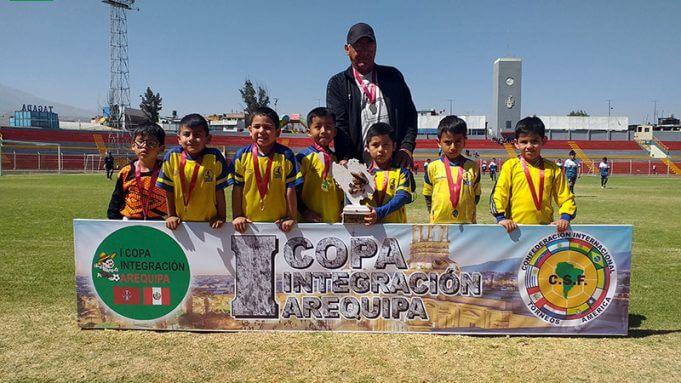 EGB Arequipa también logró el título en la sub-6.