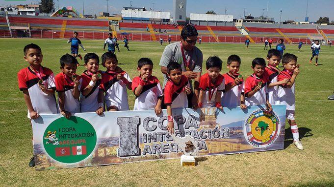Club Internacional Arequipa es el campeón de la sub-7.