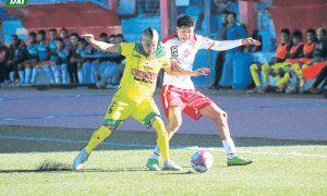 DEPARTAMENTAL. Ugarte iguala 1-1 con Credicoop en el estadio Torres Belón