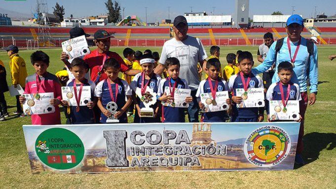 Atlético Dominó fue el mejor en la categoría sub-8.
