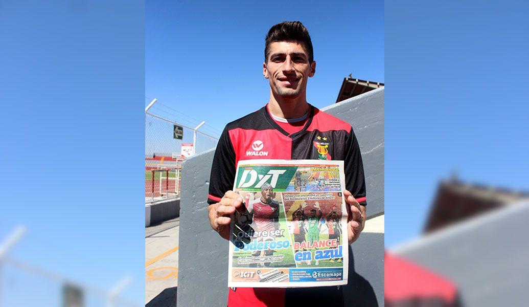 FBC Melgar: Joel Amoroso ya está adaptado al plantel y a la ciudad