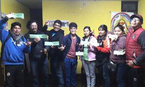 Asociación de Sordos de Tacna organiza rifa con el fin de recaudar fondos.