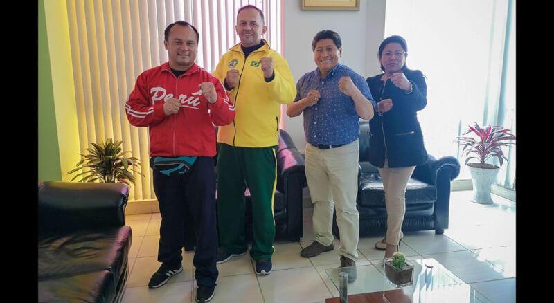 Organizadores de torneo se reunieron con alcalde de Pocollay.