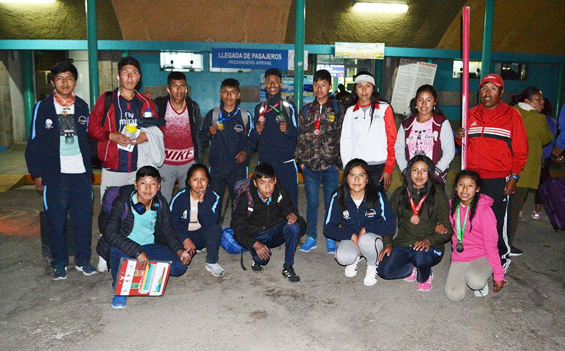 Llegaron a Puno los más rápidos del atletismo