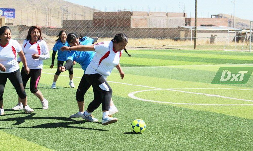 Liga Distrital de Fútbol de San Román inicia la temporada del fútbol femenino
