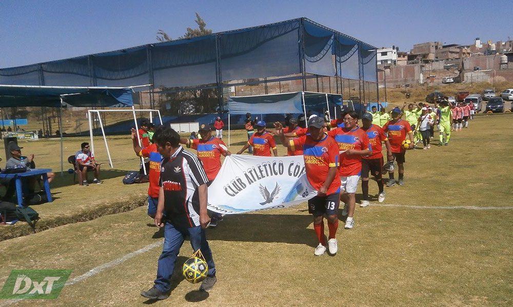 Arequipa: Residentes de Puno Inician torneo de fútbol en máster y sénior
