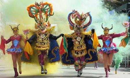 El principal carnaval de Bolivia será promocionado en la Copa Libertadores