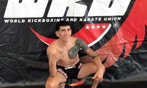 recuperado. Joseph Cabello quedó segundo puesto en un campeonato de kickboxing en Munich, Alemania