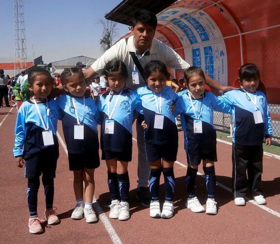 Delegación del colegio Madre Auxiliadora.
