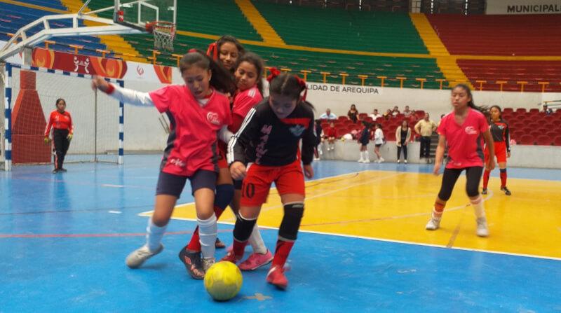 Salieron los finalistas en futsal damas