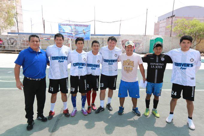 Convert Sport presentó un buen plantel de jugadores.