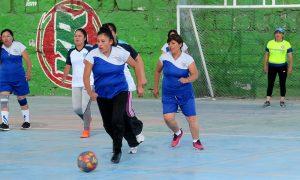 Exalumnos del colegio Micaela Bastidas finalizaron sus actividades deportivas