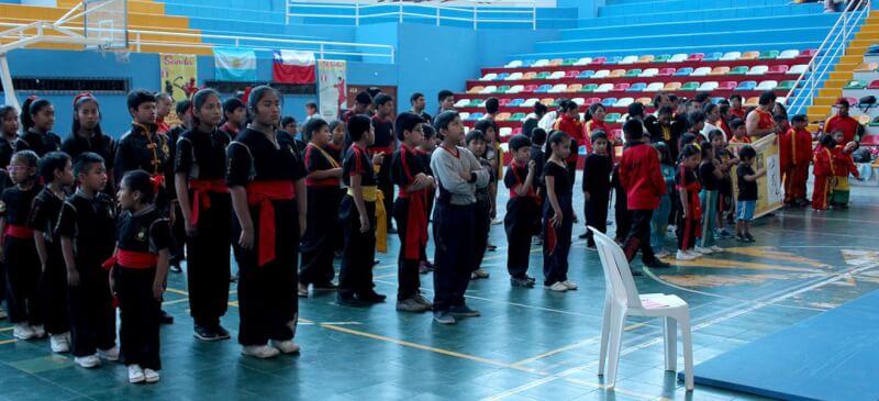 Se desarrolló Campeonato Internacional de Kung Fu