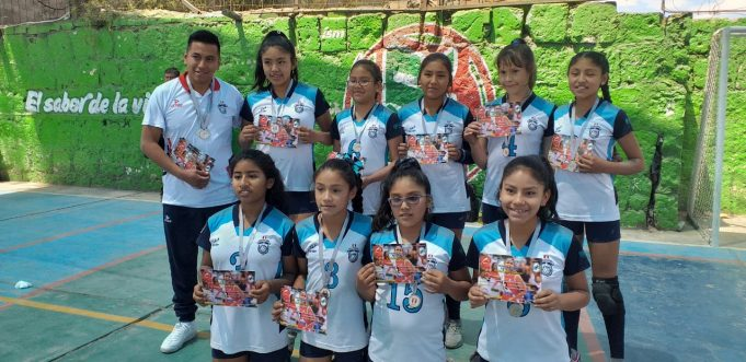 Molivóleibol se quedó con el subcampeonato en la sub-12.
