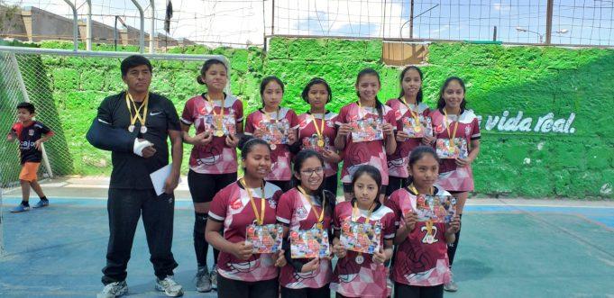 Círculo Unión Miraflores celebró el título en la sub-12.