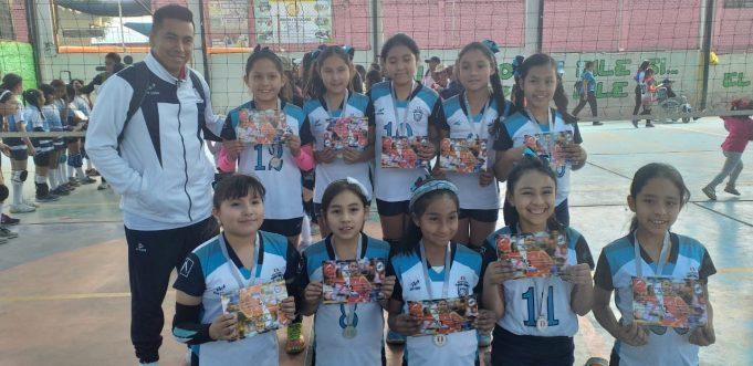 Molivóleibol obtuvo el segundo lugar en la sub-10.