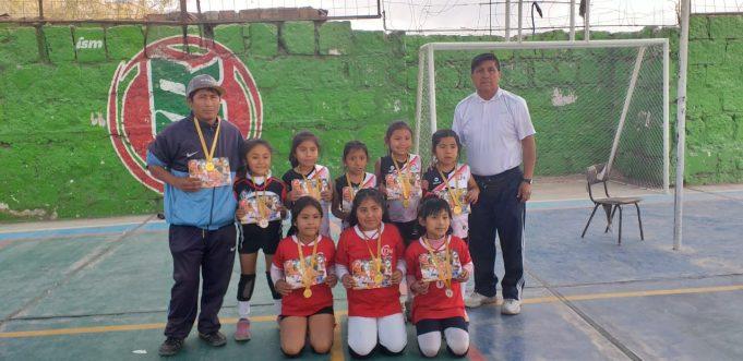 Las del Círculo Deportivo 14 fueron las mejores en la sub-7.