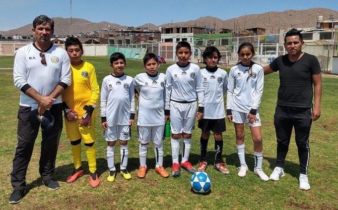 Los niños de la sub-12 del Club Gran Sociedad.