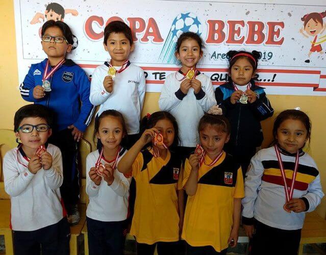 Todos los medallistas de ajedrez de la Copa Bebé.