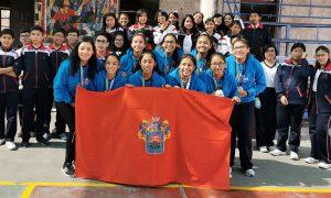 CAMPEONAS. Jóvenes lograron la medalla de oro en Lima