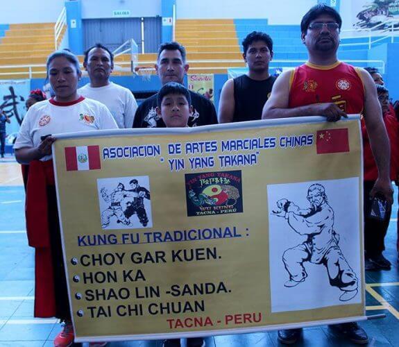 "Asociación de Artes Marciales Chinas ""Yin Yang Takana"" de Tacna."