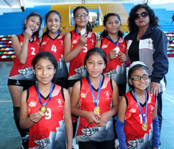 Santa Rosa campeón de vóley damas.