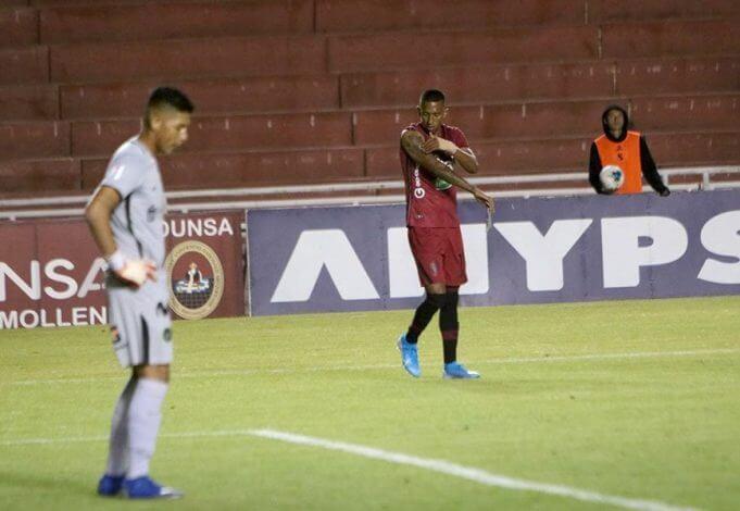 Vidales marcó su quinto gol en el Descentralizado.