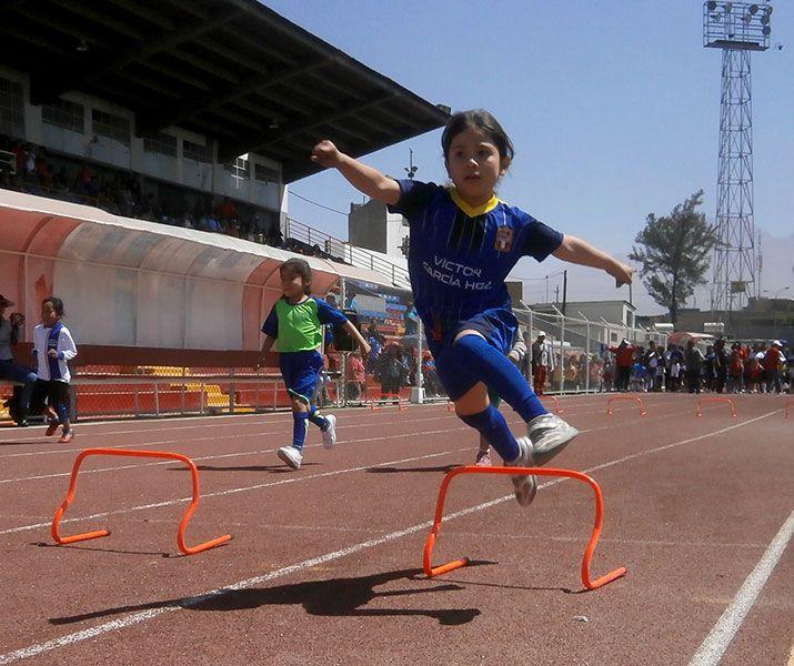 Ayer fue la primera fecha del atletismo en el estadio Melgar