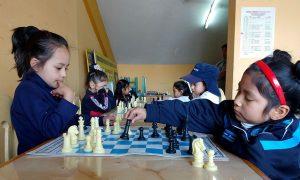 Participaron niños de diferentes colegios de Arequipa