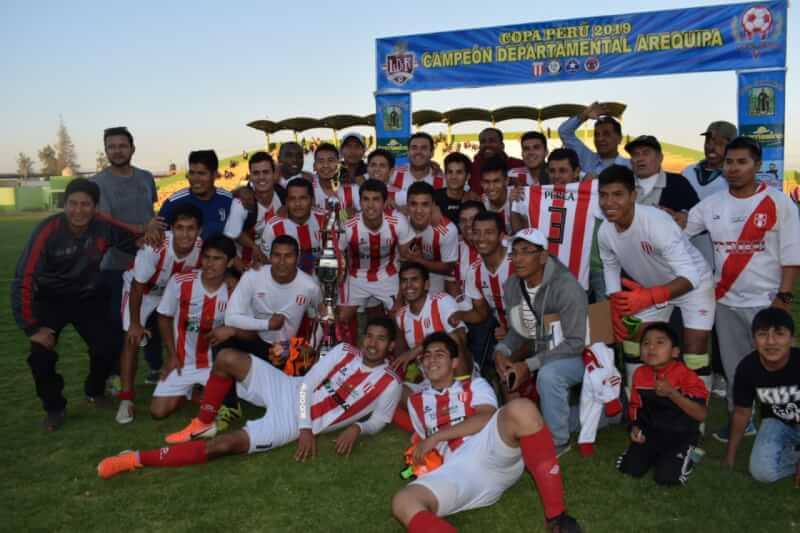 Nacional FBC alcanzó la gloria en la Etapa Departamental de la Copa Perú.