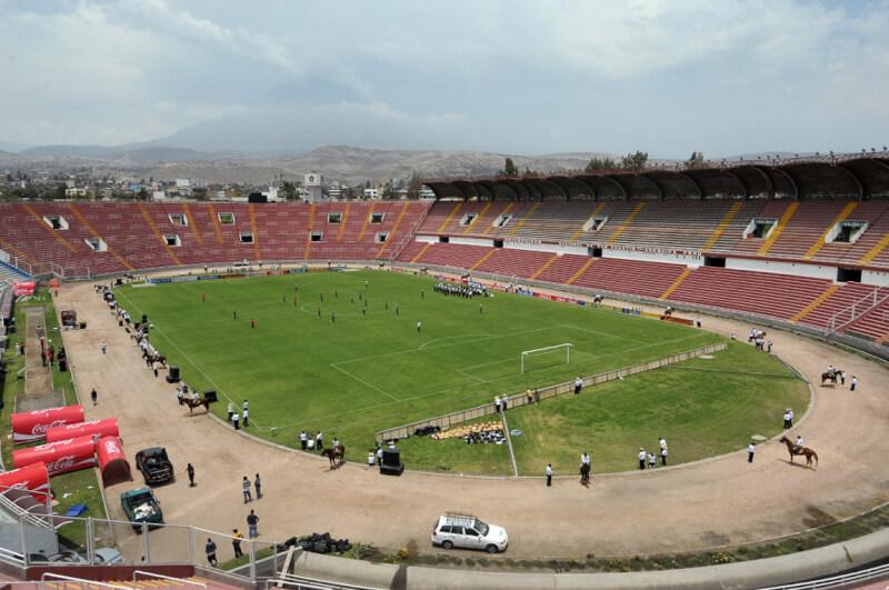 Conmebol inspeccionará el estadio Monumental este viernes.