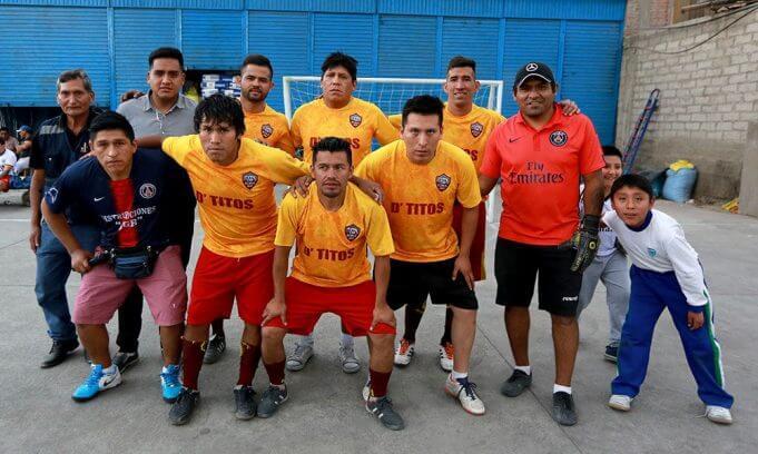 Comercial Tito logró es subcampeón en el fulbito.