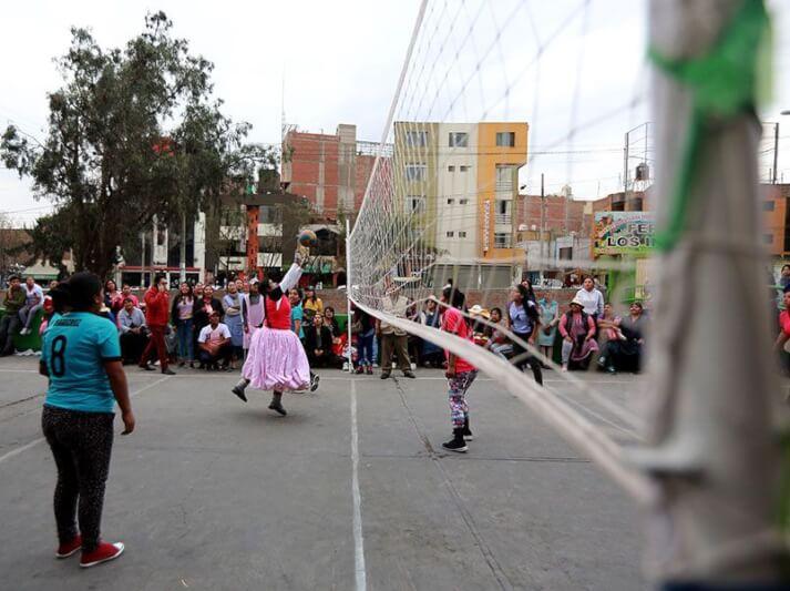 Finalizó los torneos de vóley y fulbito de la feria El Altiplano Los Incas
