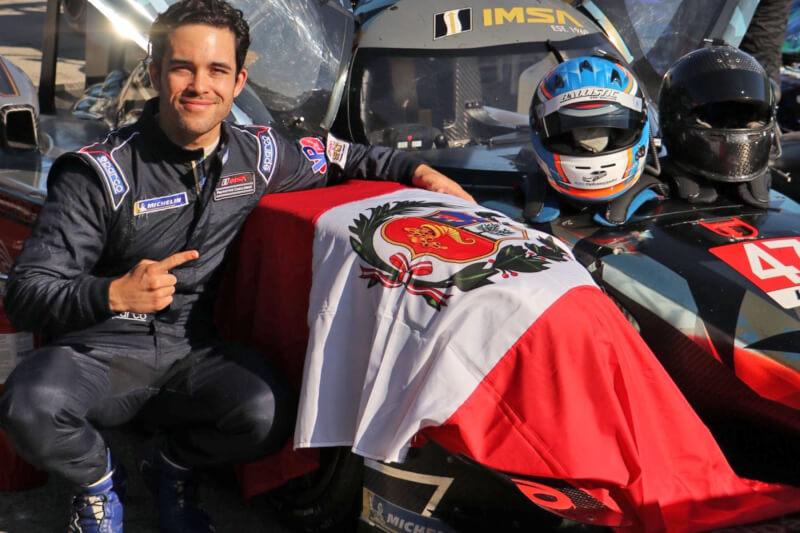 Rodrigo Pflucker escribió en lo más alto su nombre en las competencias automovilísticas en Estados Unidos.