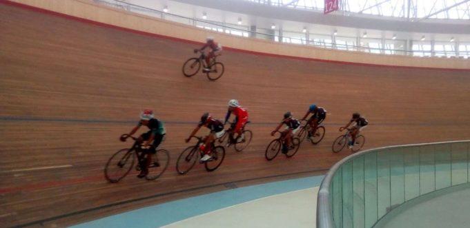 Las competencias fueron en moderno velódromo en Lima.