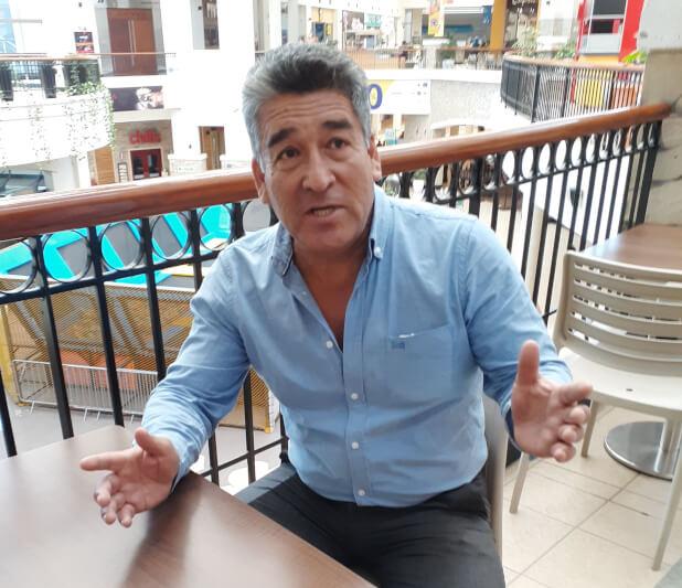 Róbert Gutiérrez, expresidente del FBC Melgar, se enfrentó y derrotó a Alejandro Corrales en el 2005.