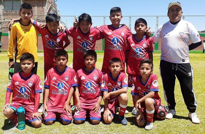 Alcides Carrión sub-11 de José Luis Bustamante y Rivero.