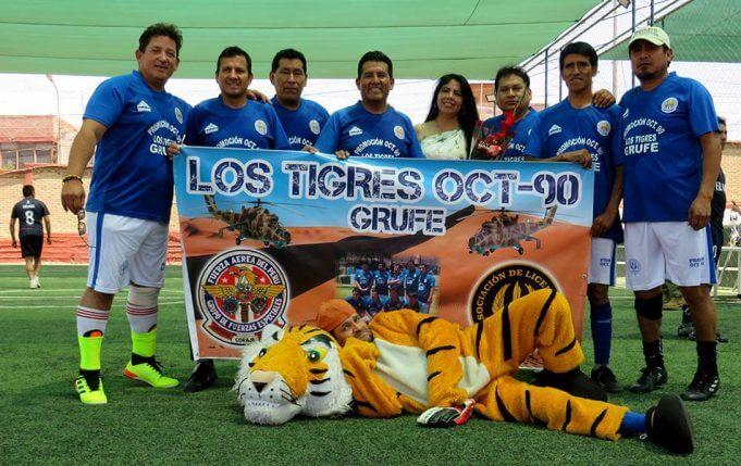 Los Tigres Promoción 1990 tuvo destacada participación.