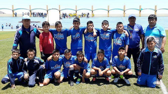 Colegio Grupo Omega tiene un buen plantel de jugadores.