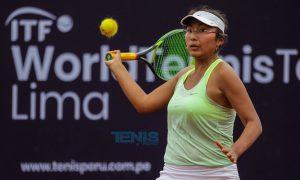 Romina Ccuno pasa por su mejor momento deportivo.