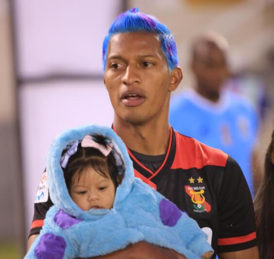 Jhon Narváez le dedicó el gol a su hija y explica el tinte de su pelo