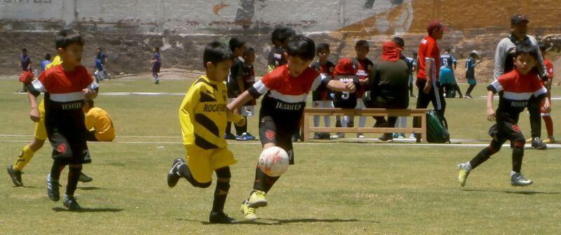 menores. Primera fecha de Creciendo con el Fútbol