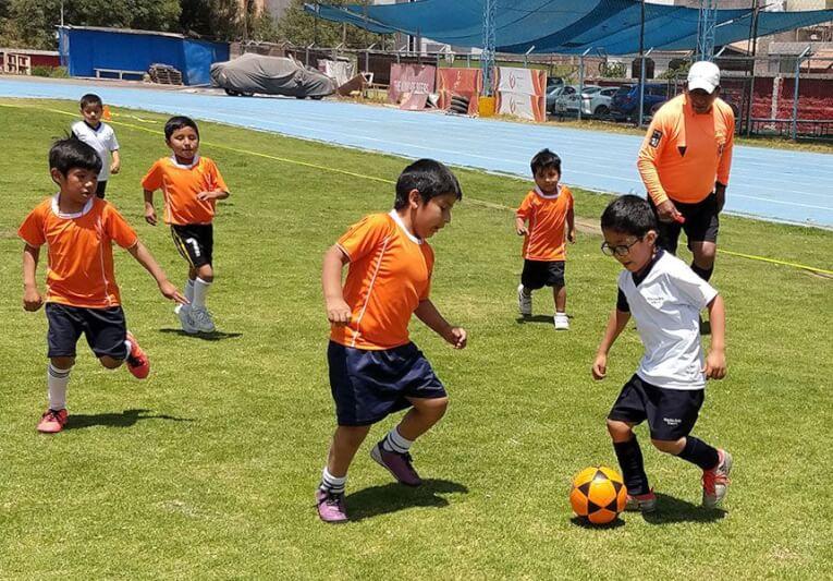 Continúa el fútbol en los Juegos Deportivos de Nivel Inicial.