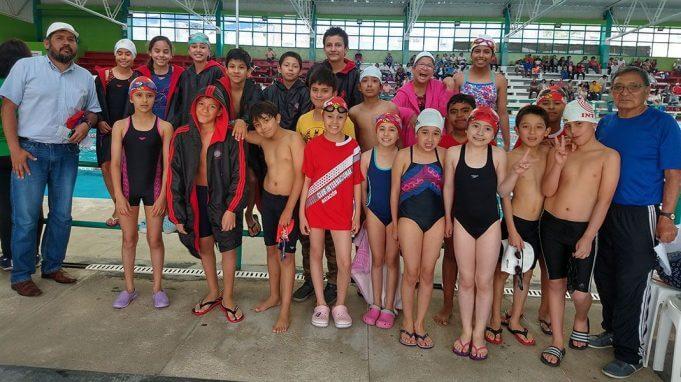 Los deportistas del Club Internacional de Arequipa.