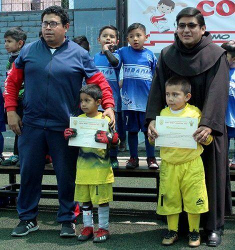 También se premió a los dos arqueros finalistas.