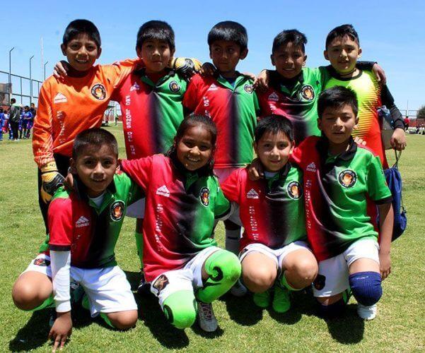 FBC Leones del Sur ganó en la categoría sub-9.