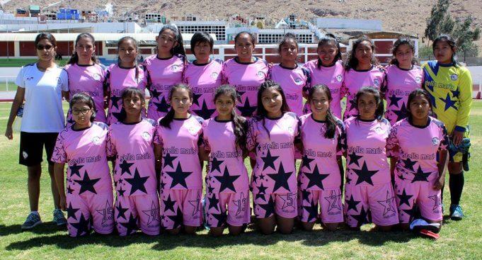 Escuela Deportiva Stella Maris quedó subcampeón.