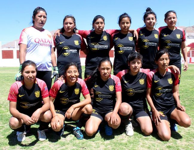 Sporting Unión Arequipa quedó en tercer lugar.